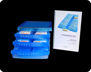 HOMEOPATHY 30C Custom Kit with FREE Reference Guide
