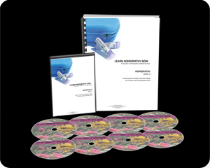 HOMEOPATHY Level 3 12 Hour Course on DVD w/ Notebook