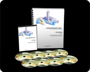 HOMEOPATHY Level 4 12 Hour Course on DVD w/ Notebook