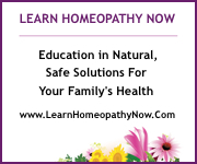 Learn Homeopathy Now, Education in Homeopathy and Bach Flower Essences